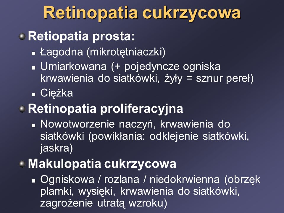 Neuropatia cukrzycowa Patogeneza ?.