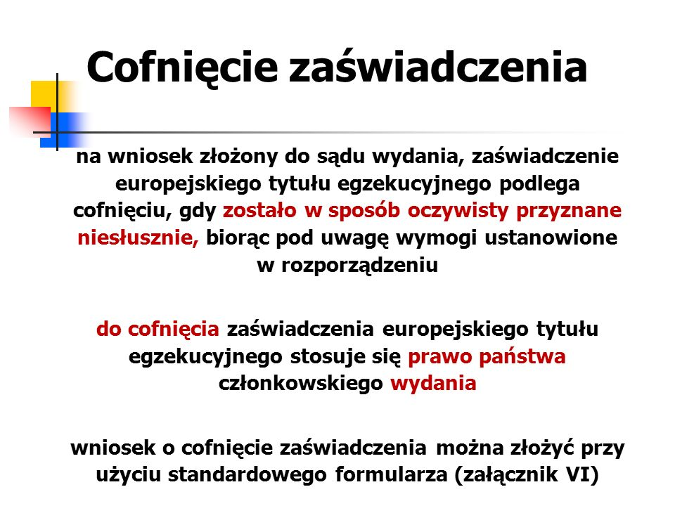 Uchylenie zaświadczenia europejskiego tytułu egzekucyjnego – k.p.c.