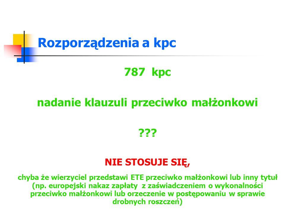 Rozporządzenia a kpc 791 par.