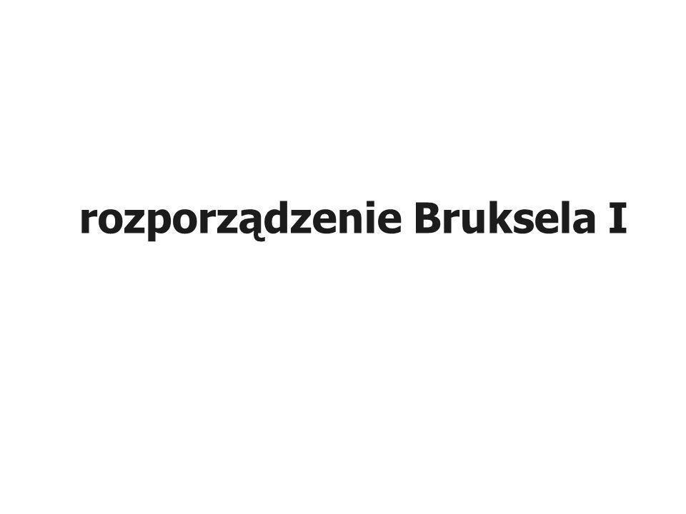 ROZPORZĄDZENIE (WE) NR 44/2001 z dnia 22 grudnia 2000 r.