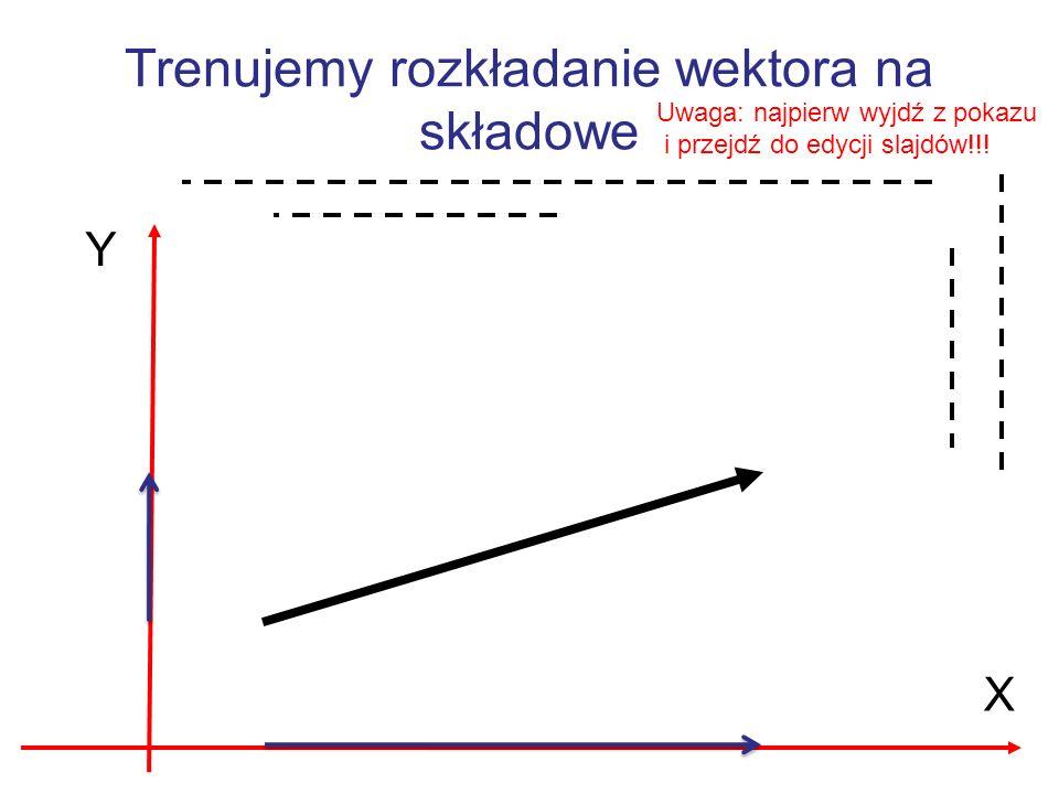 Jeśli suma wektorów (np.