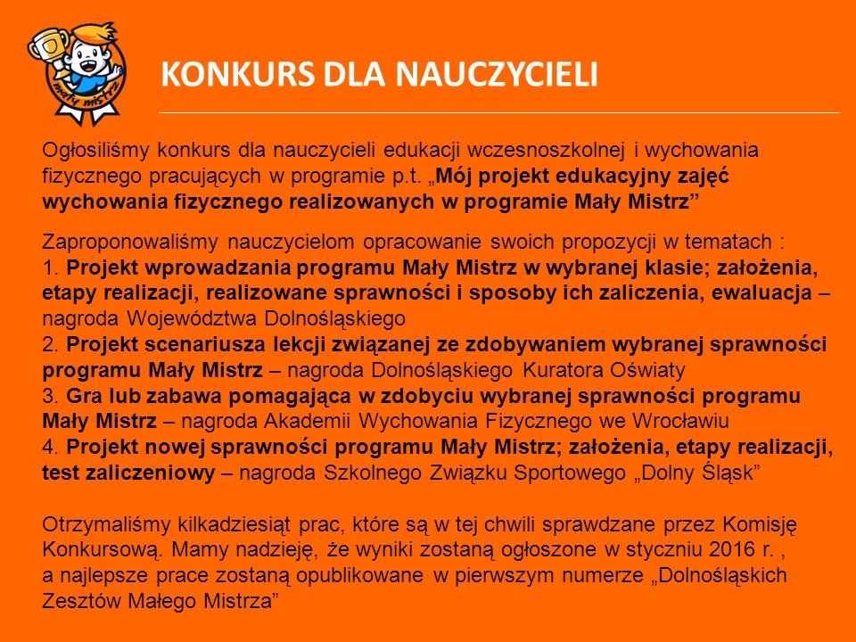 """Dziękuję za uwagę Adam Szymczak – Szkolny Związek Sportowy """"Dolny Śląsk we Wrocławiu"""