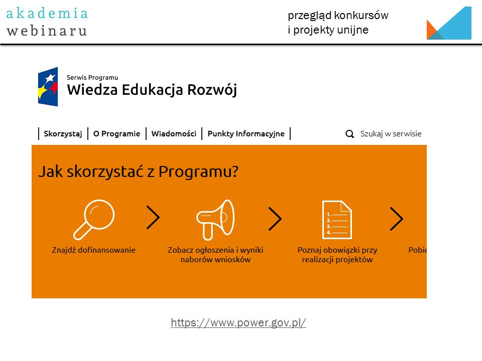 przegląd konkursów i projekty unijne http://erasmusplus.org.pl/