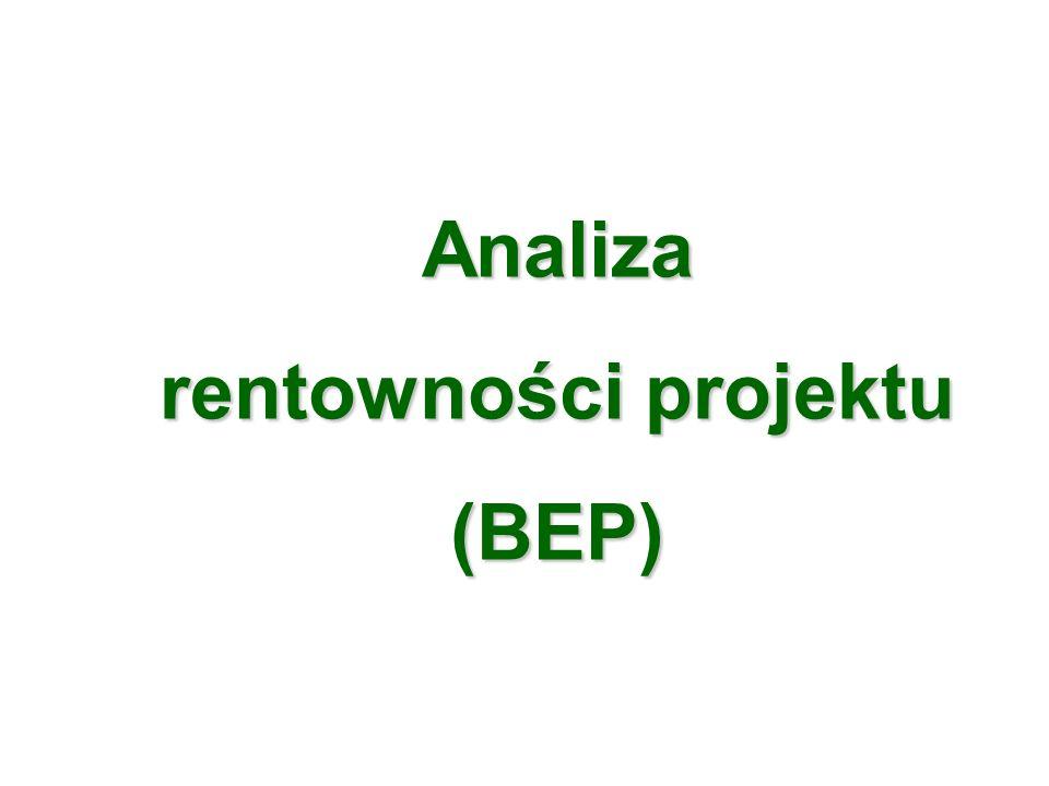 Analiza rentowności projektu (BEP)