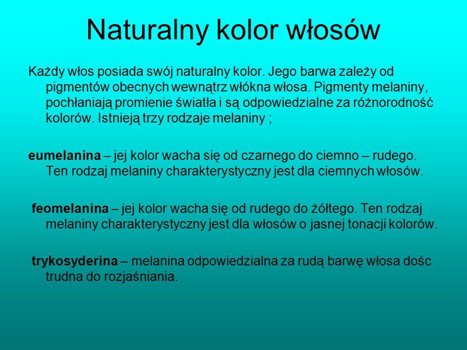 Naturalny kolor włosów