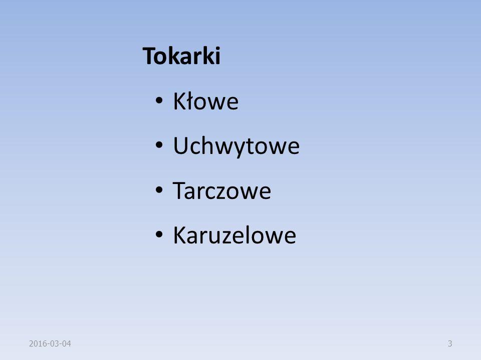 Tokarki Kłowe Uchwytowe Tarczowe Karuzelowe 2017-04-27