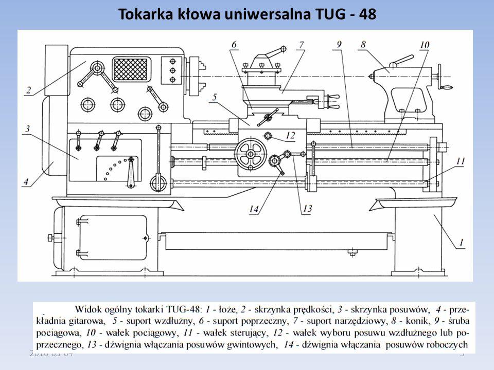 Tokarka kłowa uniwersalna TUG - 48