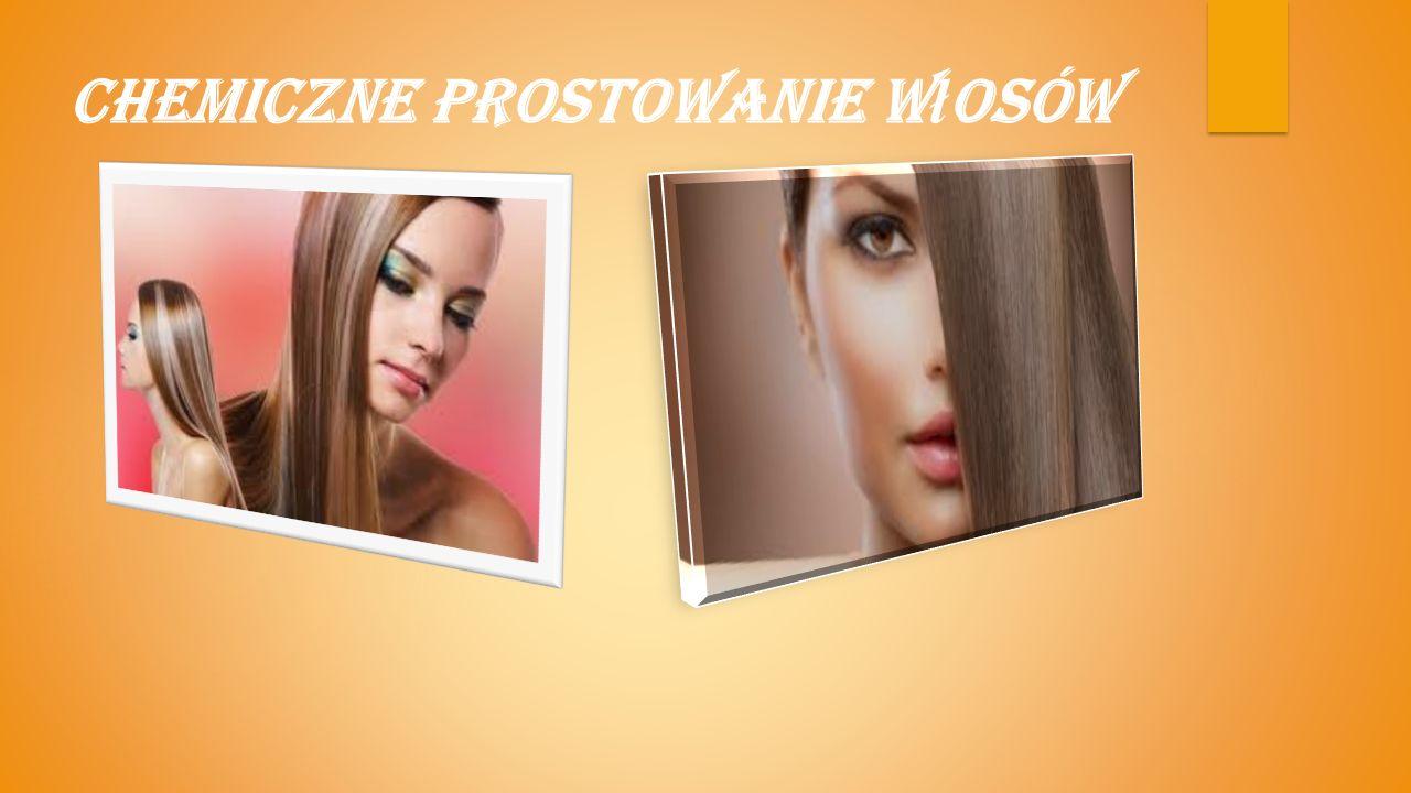 Chemiczne prostowanie włosów