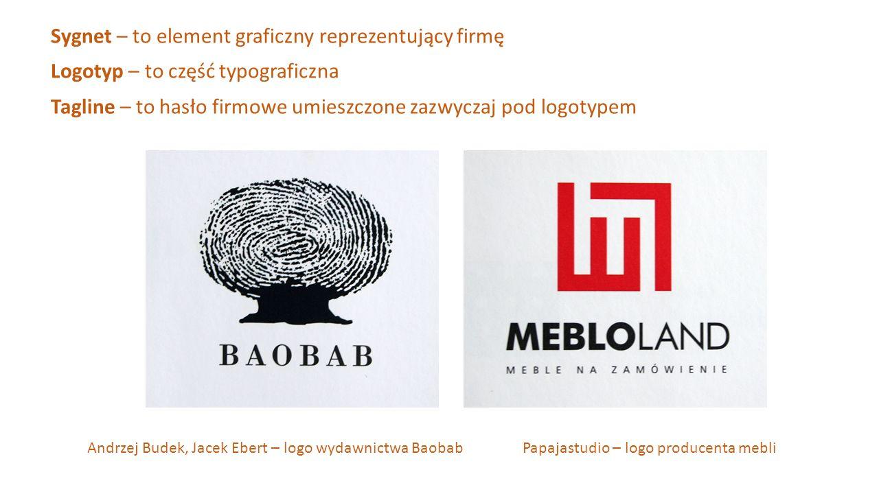 Sygnet – to element graficzny reprezentujący firmę