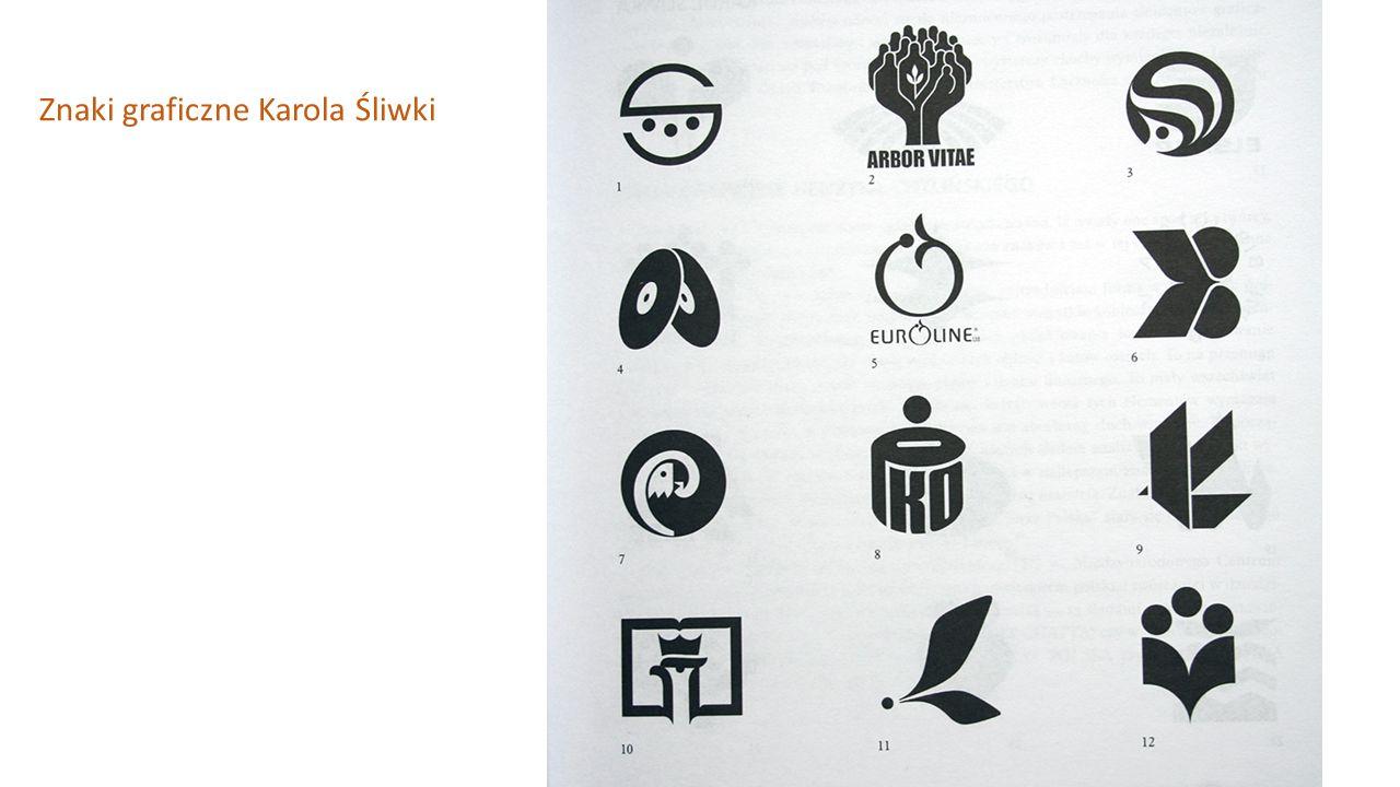 Znaki graficzne Karola Śliwki