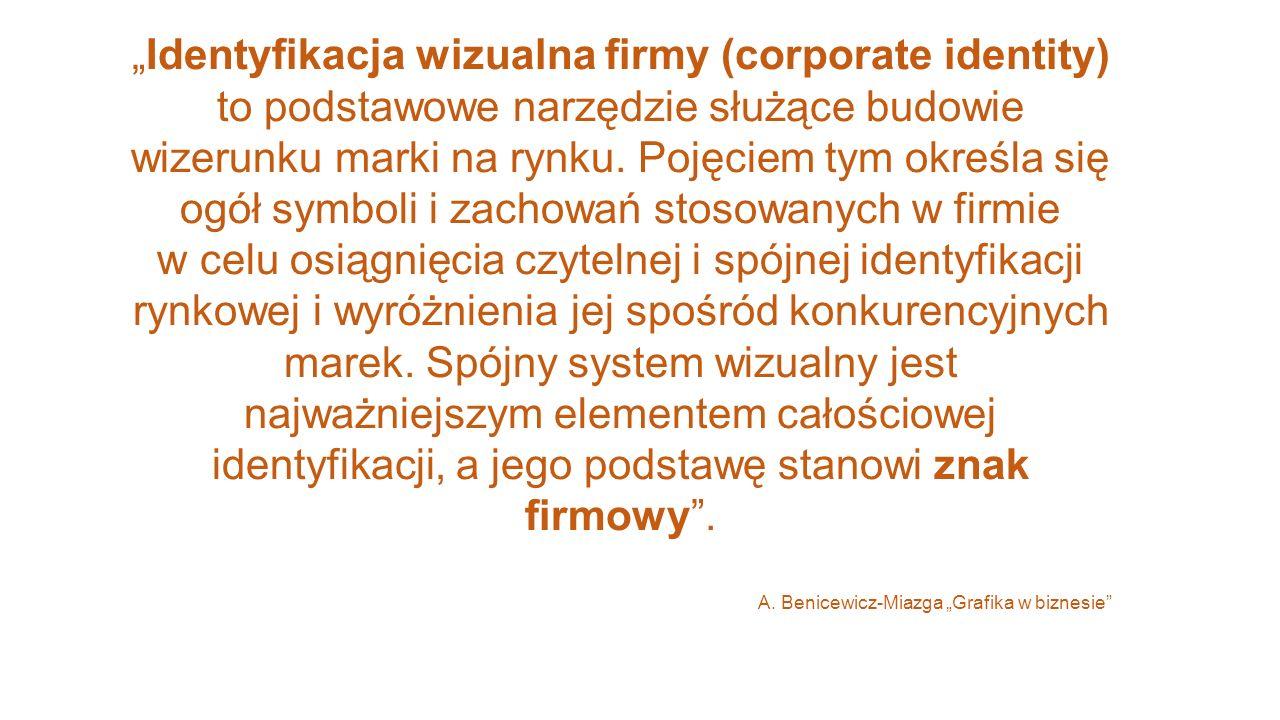 """""""Identyfikacja wizualna firmy (corporate identity)"""