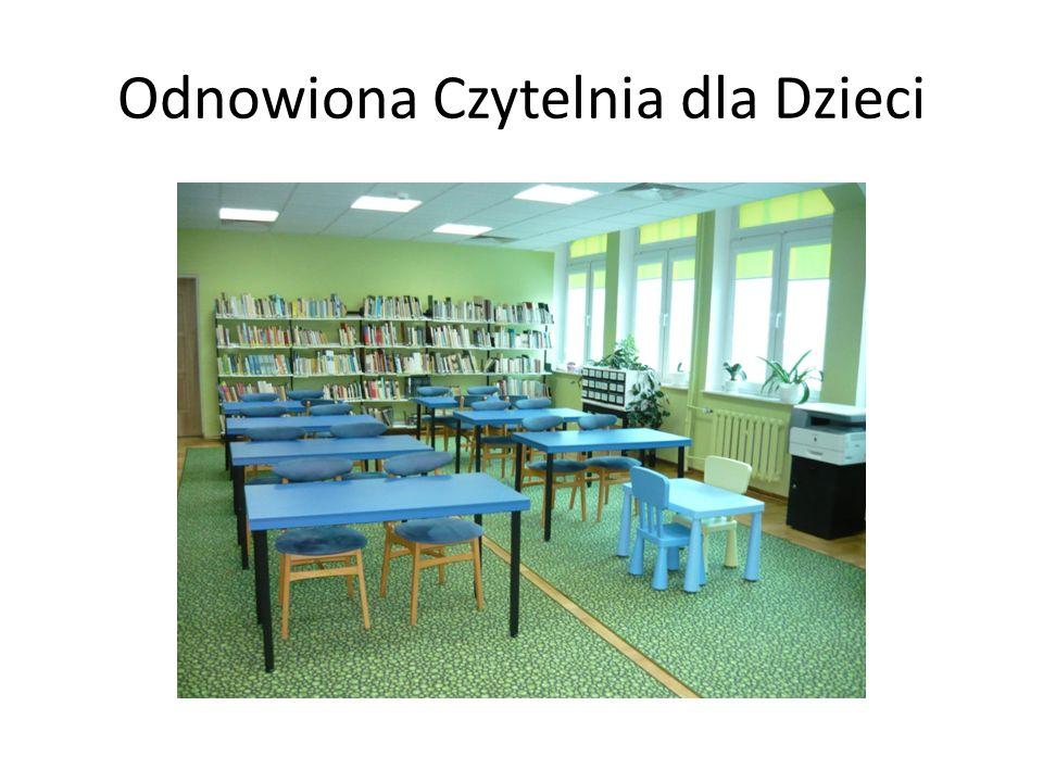 Odnowiona Czytelnia dla Dzieci