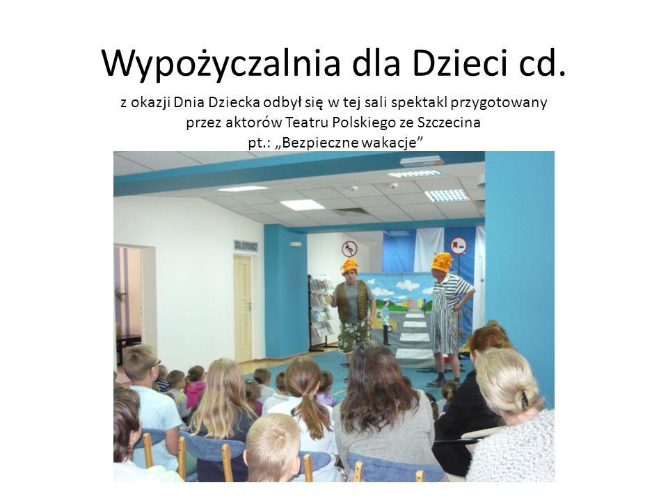 Wypożyczalnia dla Dzieci cd.