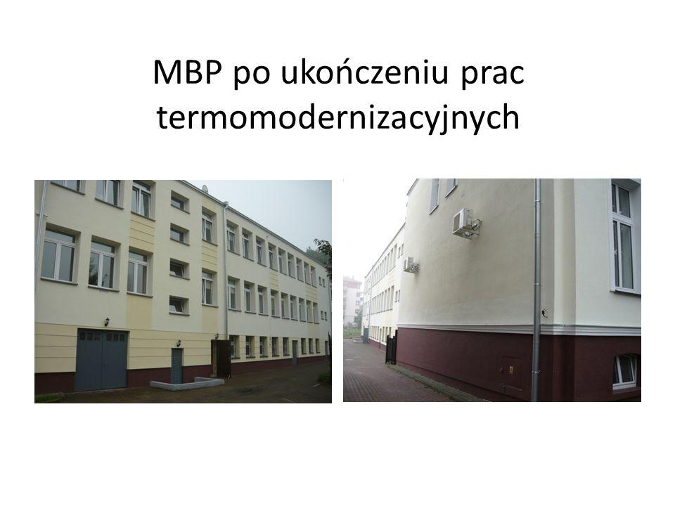 MBP po ukończeniu prac termomodernizacyjnych