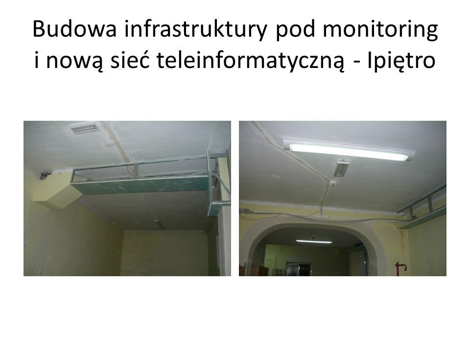Budowa infrastruktury pod monitoring i nową sieć teleinformatyczną - Ipiętro