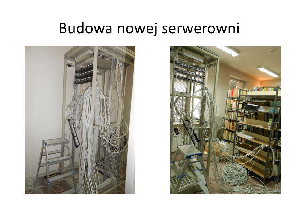 Budowa nowej serwerowni