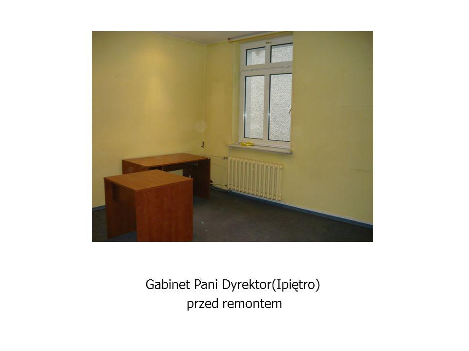Gabinet Pani Dyrektor(Ipiętro)