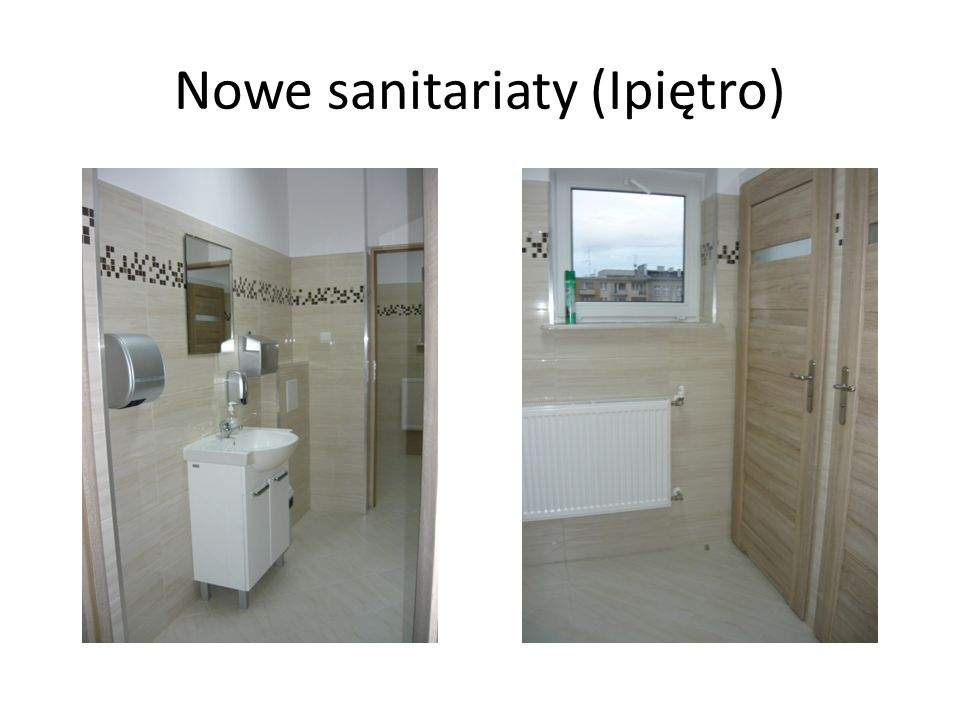 Nowe sanitariaty (Ipiętro)