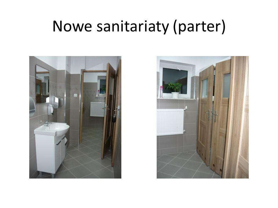 Nowe sanitariaty (parter)