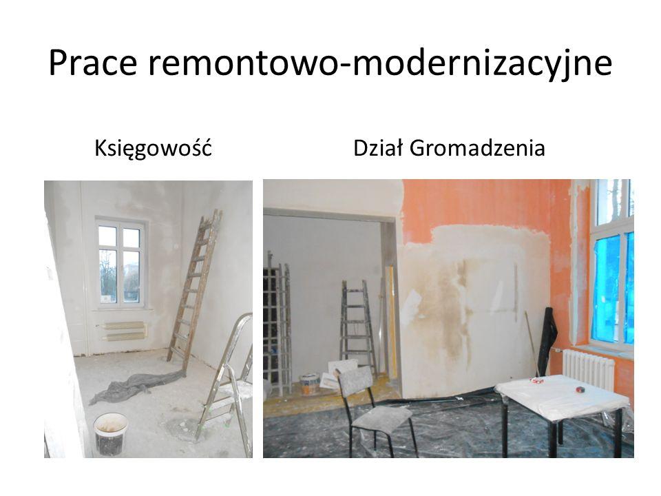 Prace remontowo-modernizacyjne