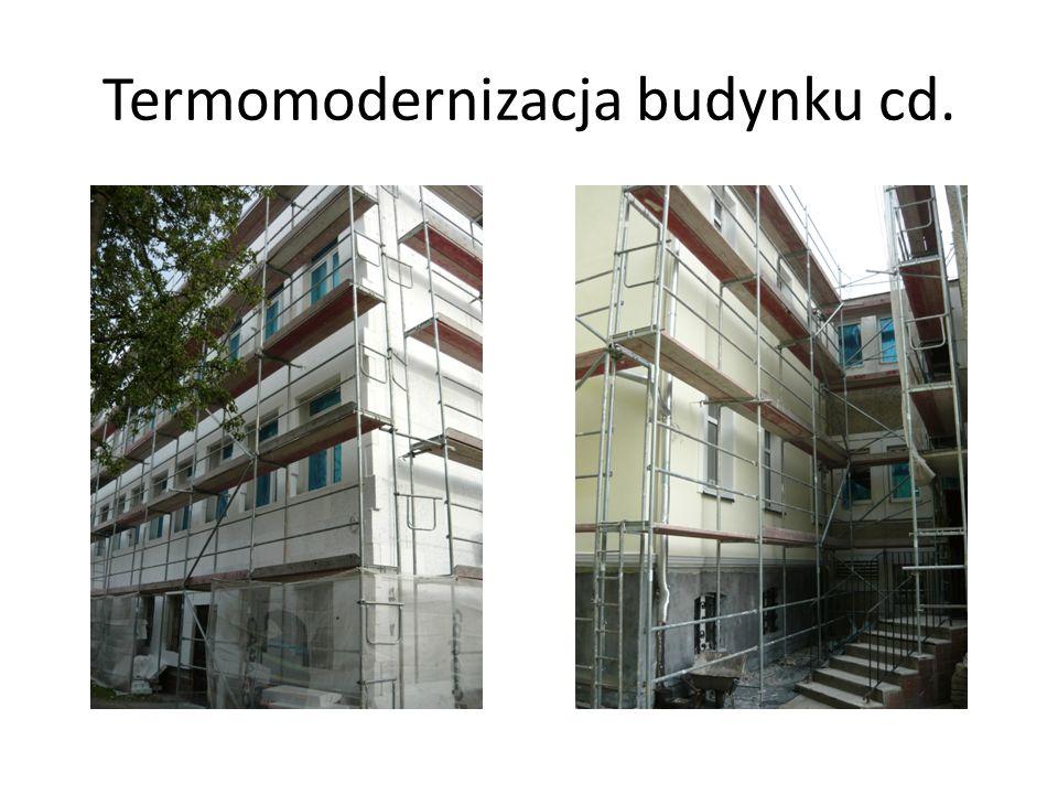 Termomodernizacja budynku cd.