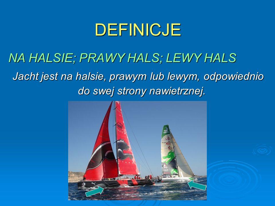 DEFINICJE NA HALSIE; PRAWY HALS; LEWY HALS