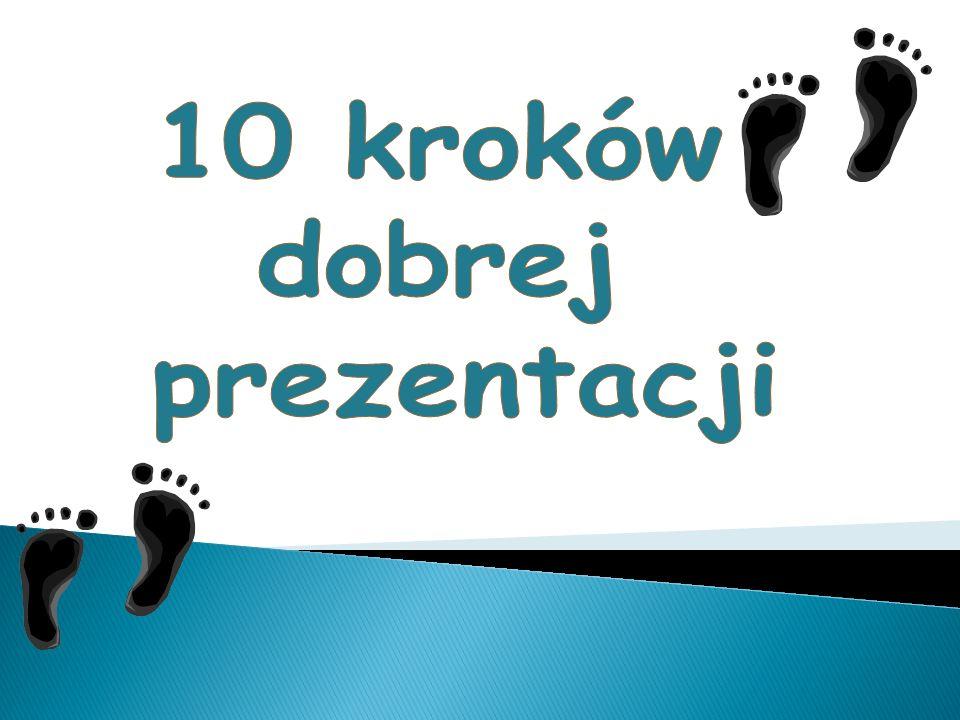 10 kroków dobrej prezentacji