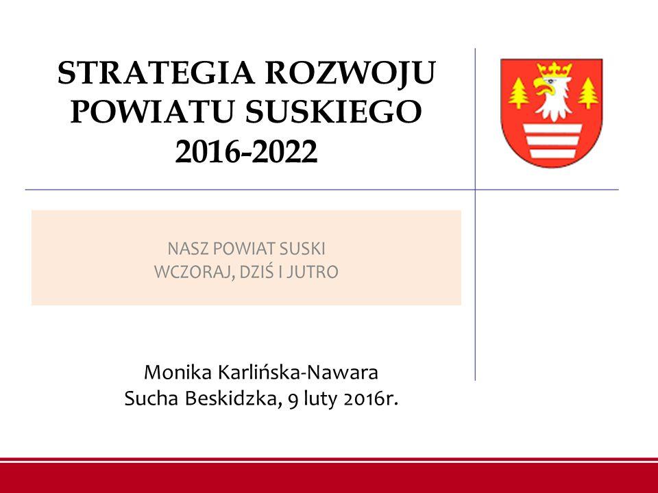 STRATEGIA ROZWOJU POWIATU SUSKIEGO 2016-2022