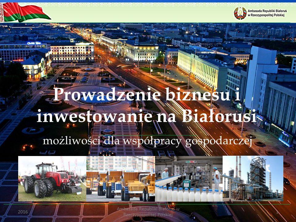 Prowadzenie biznesu i inwestowanie na Białorusi