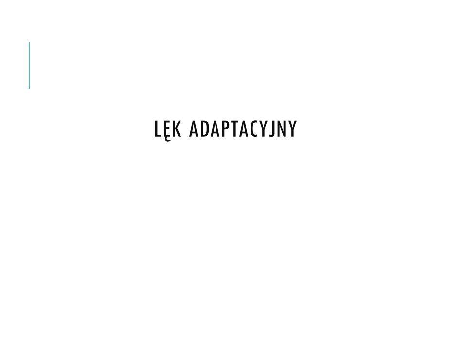 Lęk adaptacyjny