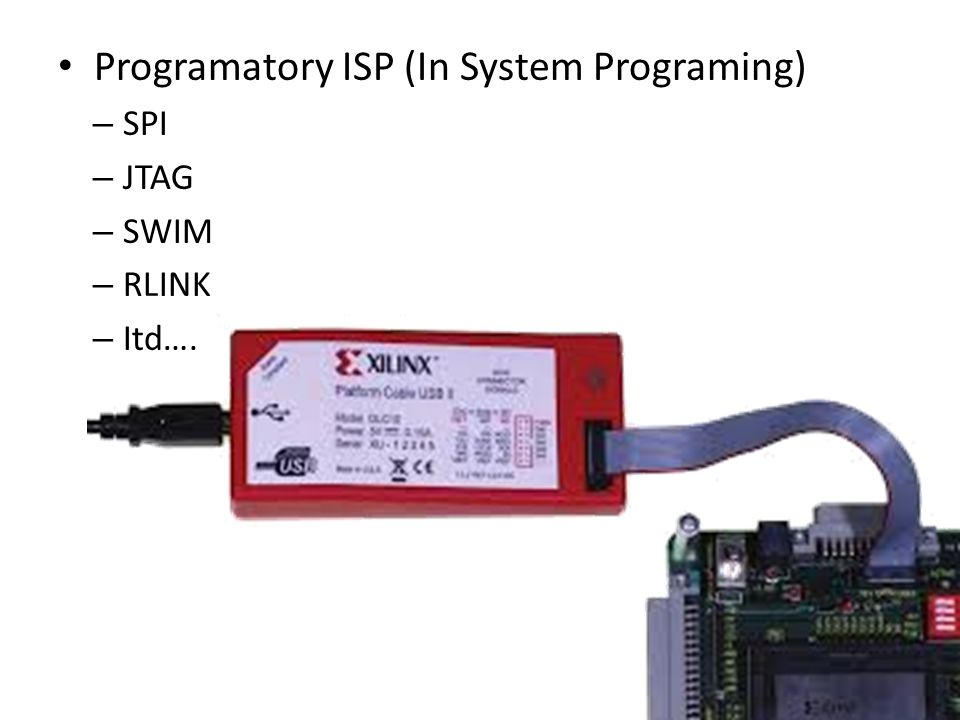 Programatory ISP (In System Programing)
