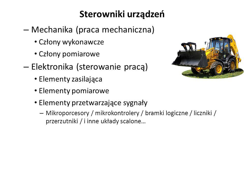 Sterowniki urządzeń Mechanika (praca mechaniczna)