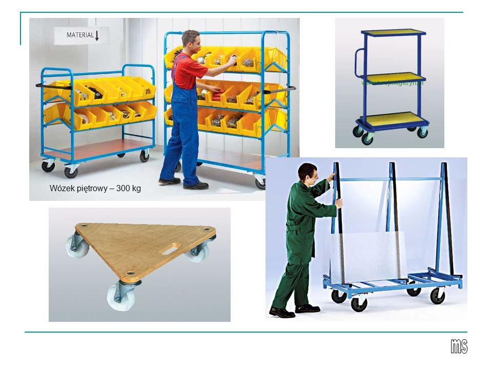 Wózek piętrowy – 300 kg ms