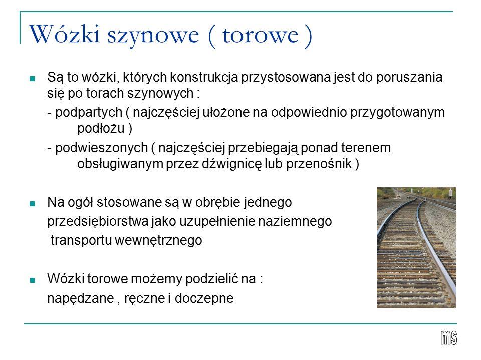 Wózki szynowe ( torowe )