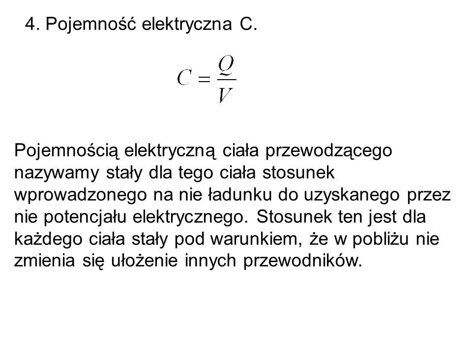 4. Pojemność elektryczna C.