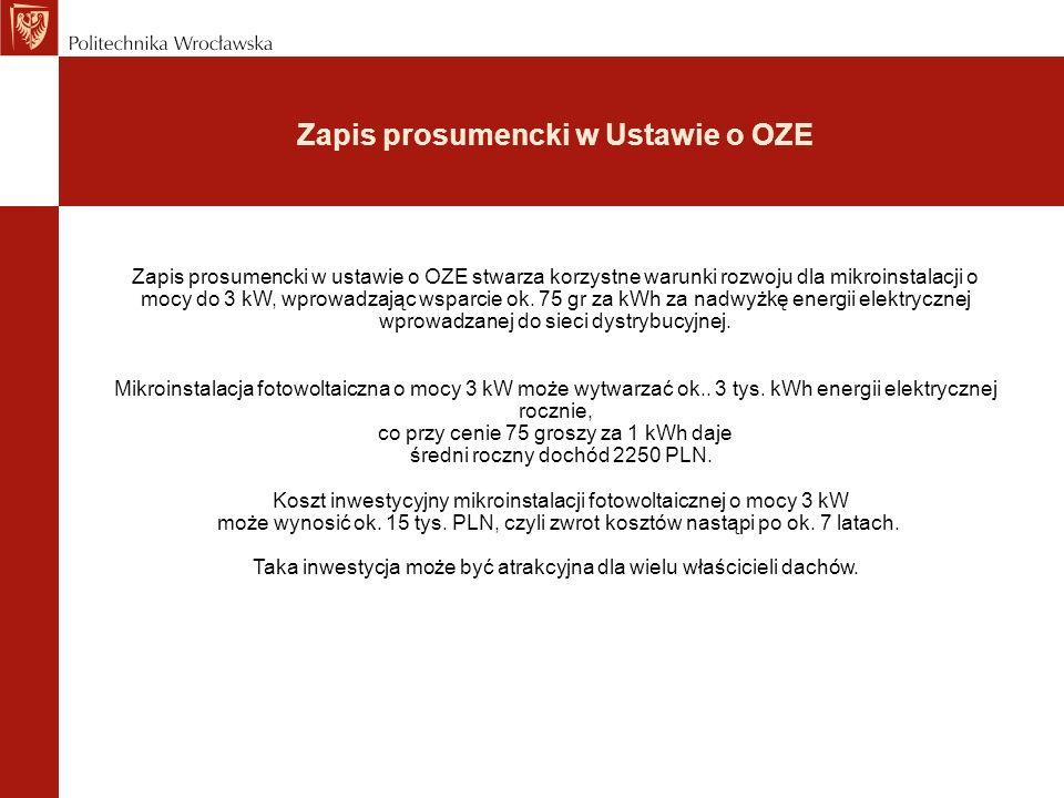 Zapis prosumencki w Ustawie o OZE
