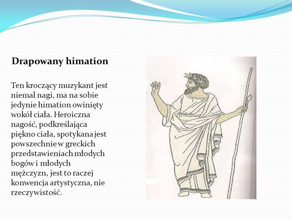 Drapowany himation