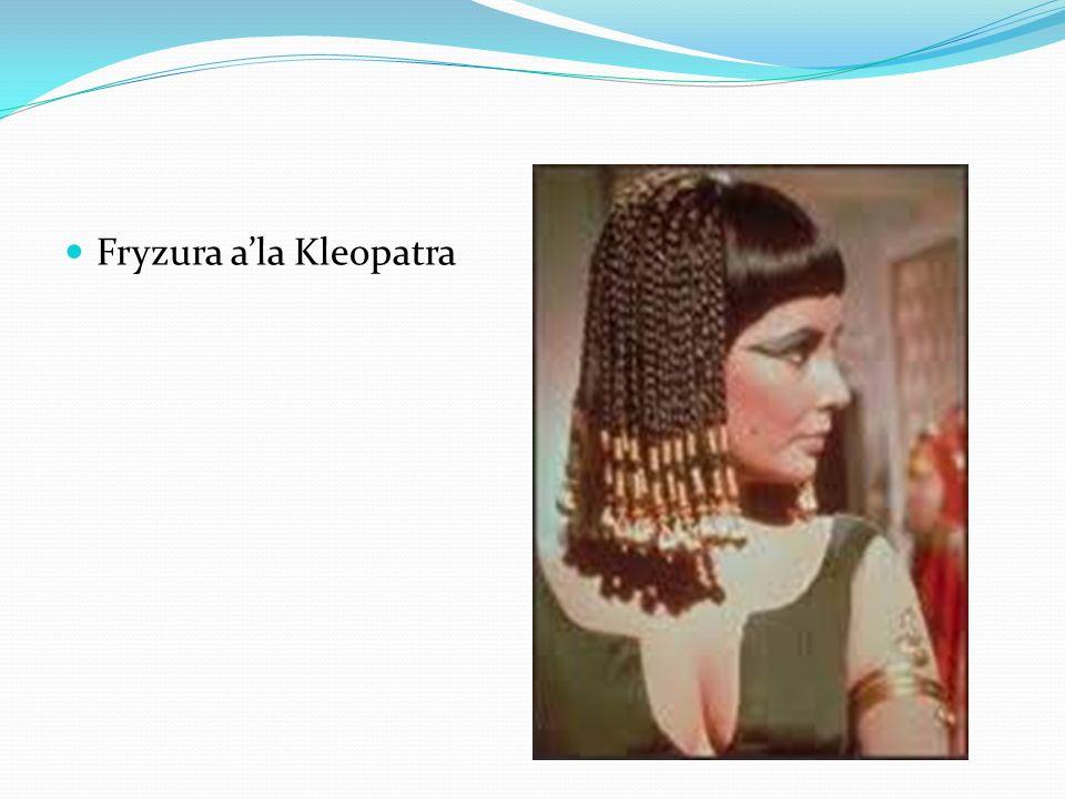 Fryzura a'la Kleopatra