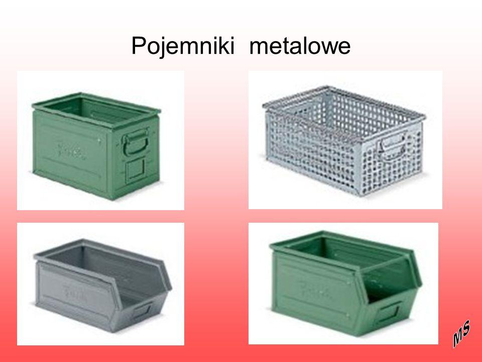 Pojemniki metalowe MS