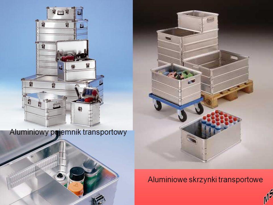 Aluminiowy pojemnik transportowy