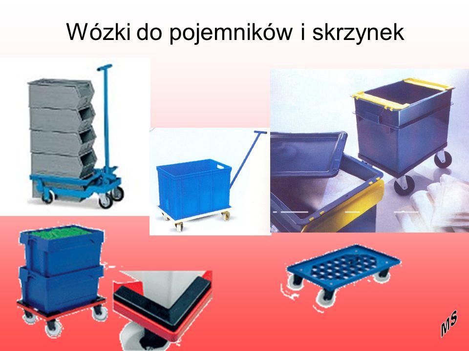 Wózki do pojemników i skrzynek