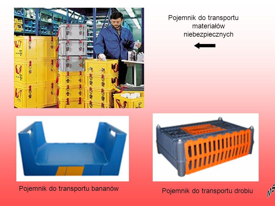 Pojemnik do transportu materiałów niebezpiecznych