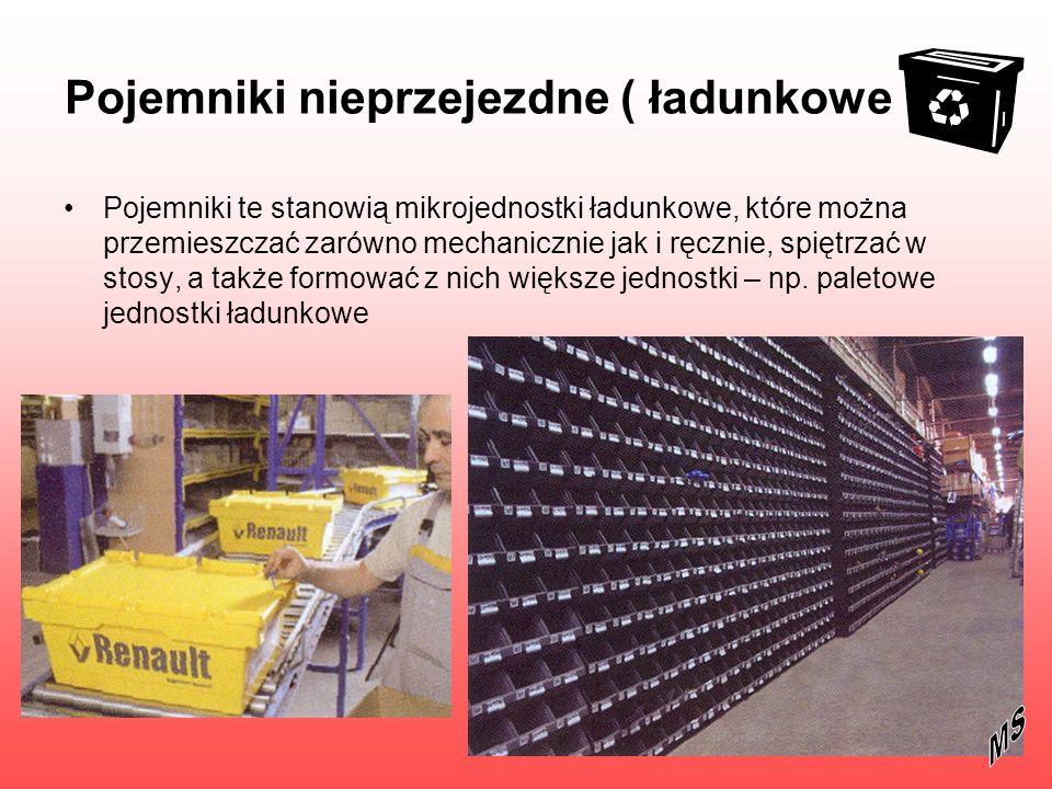 Pojemniki nieprzejezdne ( ładunkowe