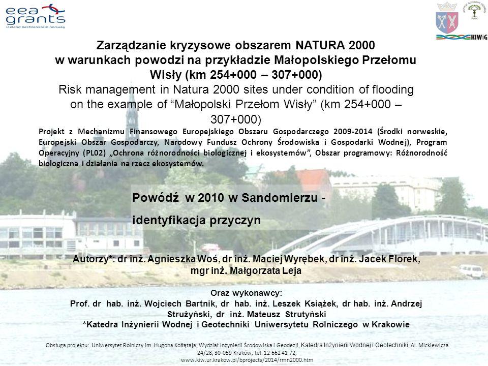 Zarządzanie kryzysowe obszarem NATURA 2000 mgr inż. Małgorzata Leja