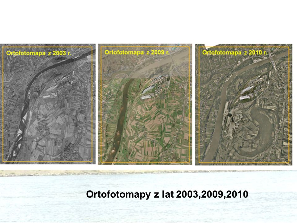 Ortofotomapy z lat 2003,2009,2010