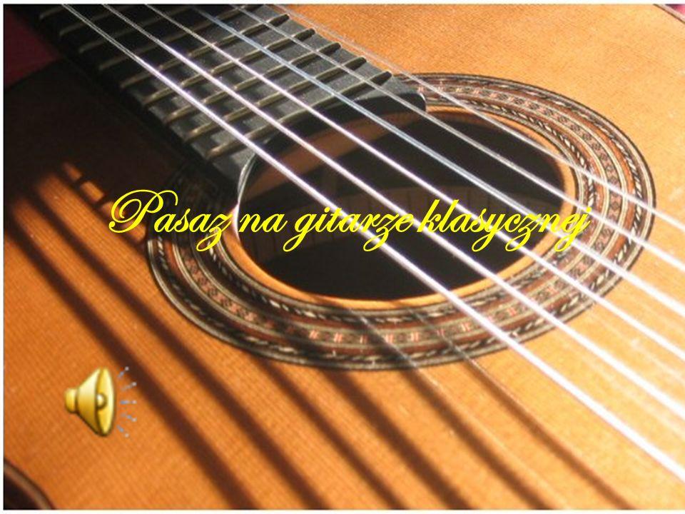 Pasaz na gitarze klasycznej