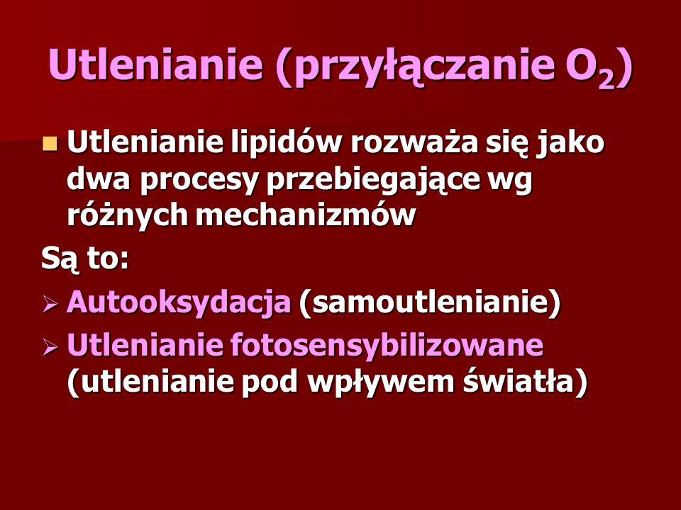 Utlenianie (przyłączanie O2)