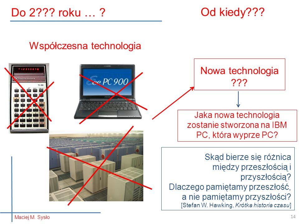 Do 2 roku … Od kiedy Współczesna technologia