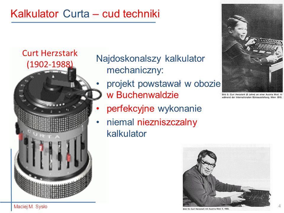 Kalkulator Curta – cud techniki