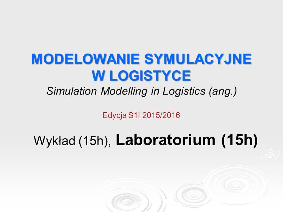 Wykład (15h), Laboratorium (15h)